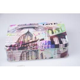 Коробка для фотографій  17 × 12 × 4.5 см. LOVE