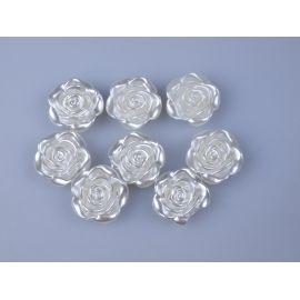Декор перламутр «Троянда» 3 см.