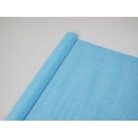Креп №556 Блакитний яскравий