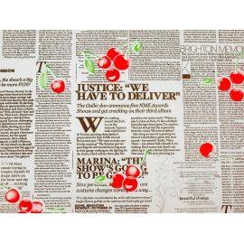 Папір  President «Газета+Вишні» на білому