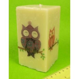 """Candle 13 see """"Owls """""""