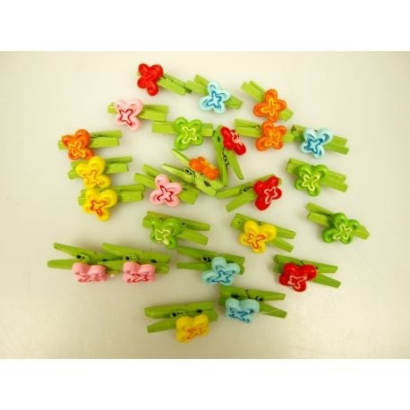 The decor is on the clothespin butterfly 501376