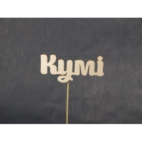 "Decor on a stick ""Kumi"" natural"