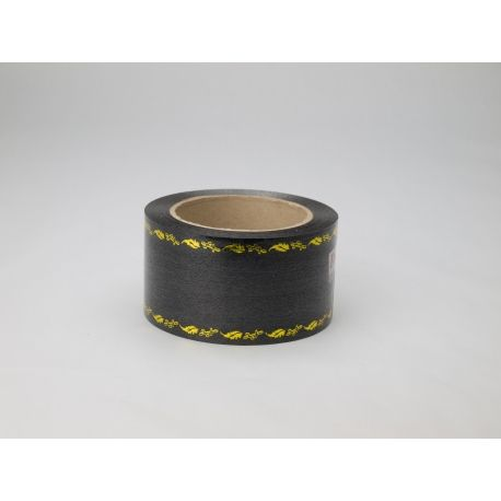 Mourning ribbon Dolce metal 6 × 50