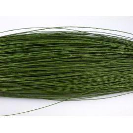 Проволка 0.7 тейпированная 100 гр. зеленая