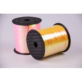 Ribbon 0.5 cm. × 250 yards yellow mother-of-pearl