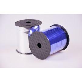 Стрічка 0.5 см.× 250 ярд.метал синя