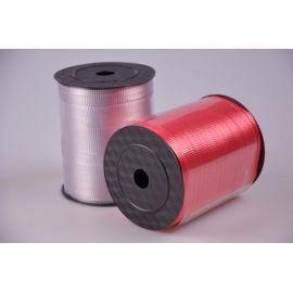 Стрічка 0.5 см.× 500 ярд.брижована червона