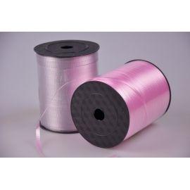 Лента 0.5 см.× 500 ярд.гофрированная розовая