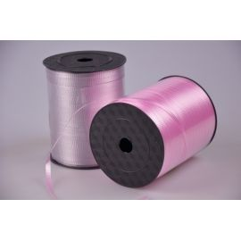 Стрічка 0.5 см.× 500 ярд.брижована рожева