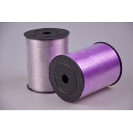 Ribbon 0.5 cm × 500 yards corrugated lilac