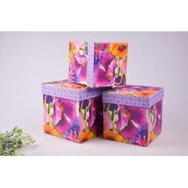 "A set of gift boxes ""Watercolor"" 3 pcs"