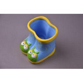 Керамічна ваза «Чобітки » рожева
