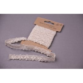 Ribbon lace cotton 1.7 cm.