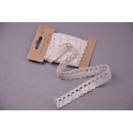 Tape lace cotton 2 cm.