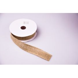 Tape of burlap 2.5 cm.