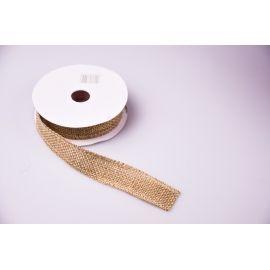 Tape of burlap 2.5 cm.
