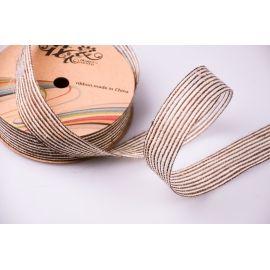 Jute tape 3 cm brown