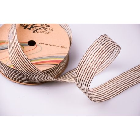 Jute tape 3 cm brown