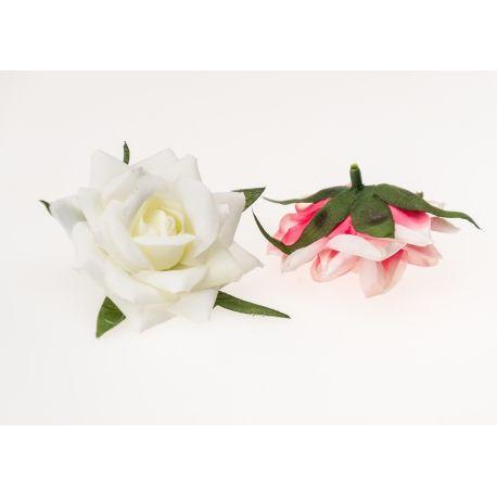 Rose 7 cm white