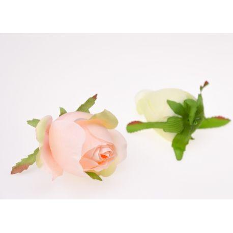 Троянда напіврозкрита 8 см.