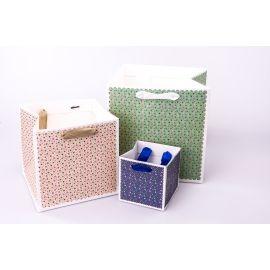 Пакет кубічний 10 см×10 см× 10 см чорний