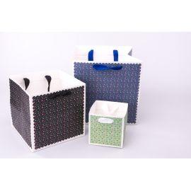 Package cube 22 cm × 22 cm × 22 cm