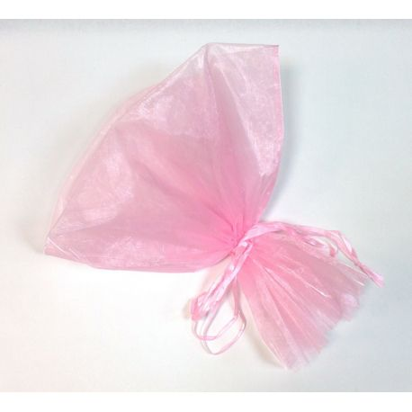 Packaging for a bouquet organza