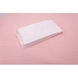 Пакет из бумаги без ручек 13 см × 29 × 4 см. белый