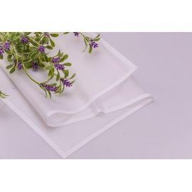 Пленка матовая белая с каймой 20 листов