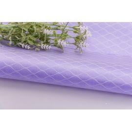Пленка в сеточку 60 × 60 см. сиреневая
