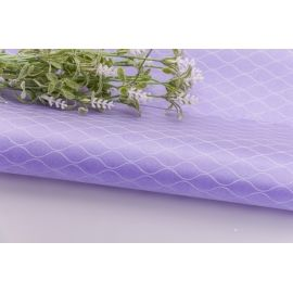 The film in the mesh is 60 × 60 cm. Lilac