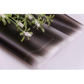 Плівка матова омбре 60 × 60 см. графіт