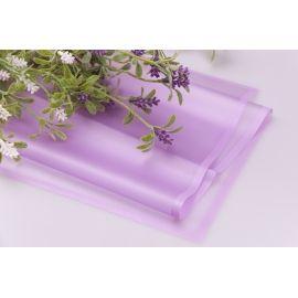 Пленка матовая из каймой 60 × 60 см. лиловая