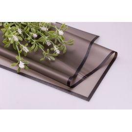 Пленка матовая с каймой 60 × 60 см. черная