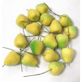 Pears with sugar