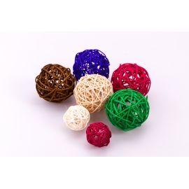 Rattan ball 7 cm.