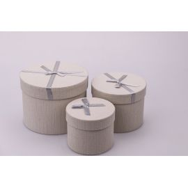 Tubes small from the bow 3 pc. grey