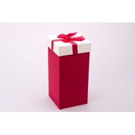 Gift box is high 20 × 10 × 10cm. red
