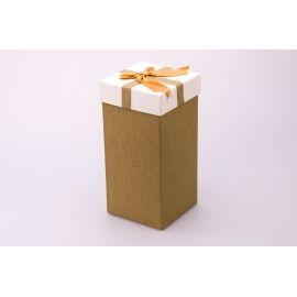 Gift box is high 20 × 10 × 10cm. mustard