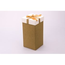 Gift box is high 20 × 10 × 10cm. mustard