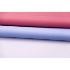 Пленка матовая двусторонняя 60 × 60 см. теракот+васильковый