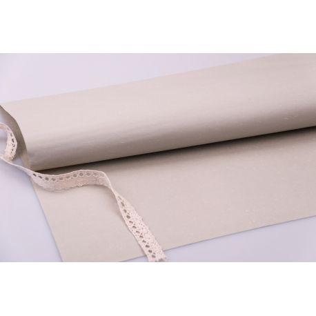 Бумага влагостойкая 60 × 60 см. соломка беж