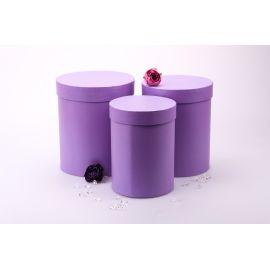 Tube monophonic 3 pcs.lilac