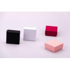 Коробочка маленькая для украшений 7.5×7.5×3.5 см.