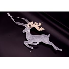 "Pendant acrylic ""Deer"" 13 cm."