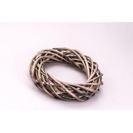 Кольцо из ротанга 25 см. серое