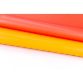 Matte sided film 60 × 60 cm. orange + peach