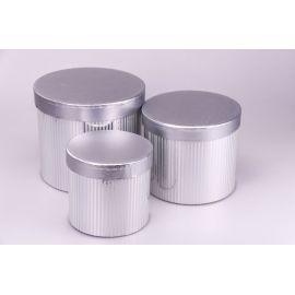 Silver tubes 3 pcs.