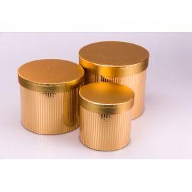 Golden tubes 3 pcs